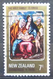 Poštovní známka Nový Zéland 1978 Vánoce, umìní, El Greco Mi# 757