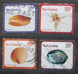 Poštovní známky Nový Zéland 1978 Mušle Mi# 760-63