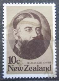 Poštovní známka Nový Zéland 1979 Julius Vogel Mi# 766