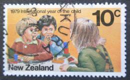 Poštovní známka Nový Zéland 1979 Mezinárodní rok dìtí Mi# 775