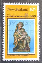 Poštovní známka Nový Zéland 1979 Vánoce, socha, Ghiberti Mi# 779