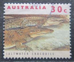Poštovní známka Austrálie 1994 Krokodýl moøský Mi# 1394 y