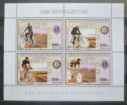 Poštovní známky Kongo Dem. 2006 Cyklistika Mi# N/N