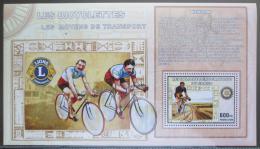 Poštovní známka Kongo Dem. 2006 Cyklistika DELUXE Mi# N/N