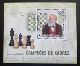Poštovní známka Guinea-Bissau 2006 Wilhelm Steinitz DELUXE Mi# 3452 Block