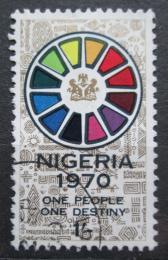 Poštovní známka Nigérie 1970 Konfederace 12 státù Mi# 230