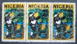 Poštovní známky Nigérie 1973 Rybáøský festival Mi# 285 II Y Kat 5.70€