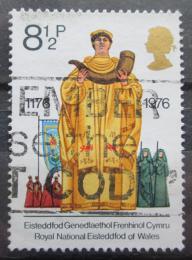 Poštovní známka Velká Británie 1976 Eisteddfod, básník Mi# 715