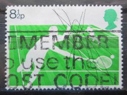 Poštovní známka Velká Británie 1977 Wimbledon, tenis Mi# 727
