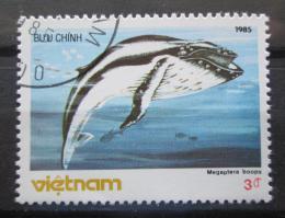 Poštovní známka Vietnam 1985 Megaptera boops Mi# 1630