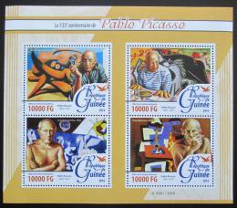 Poštovní známky Guinea 2016 umìní, Pablo Picasso Mi# 11548-51 Kat 16€