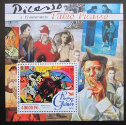 Poštovní známka Guinea 2016 umìní, Pablo Picasso Mi# Block 2606 Kat 16€