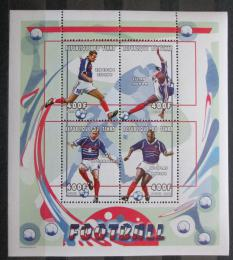 Poštovní známky Èad 2000 Fotbalisti Mi# 2152-55 Bogen Kat 20€