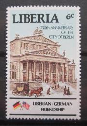 Poštovní známka Libérie 1987 Divadlo v Berlínì Mi# 1361