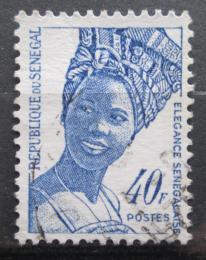 Poštovní známka Senegal 1972 Domorodkynì Mi# 502