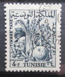 Poštovní známka Tunisko 1957 Zemìdìlské produkty, doplatní Mi# 70