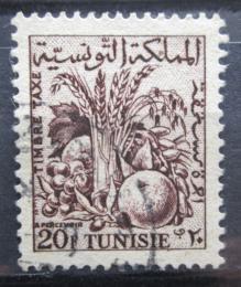 Poštovní známka Tunisko 1957 Zemìdìlské produkty, doplatní Mi# 73