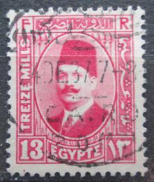Poštovní známka Egypt 1927 Král Fuad I. Mi# 128