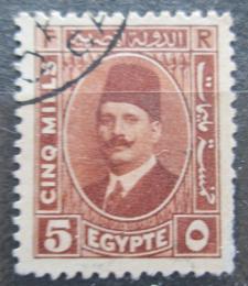 Poštovní známka Egypt 1929 Král Fuad I. Mi# 125 b
