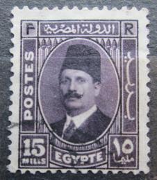Poštovní známka Egypt 1934 Král Fuad I. Mi# 206