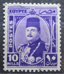 Poštovní známka Egypt 1944 Král Farouk Mi# 273