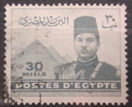 Poštovní známka Egypt 1939 Král Farouk Mi# 252 a