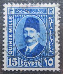 Poštovní známka Egypt 1931 Král Fuad I. Mi# 129 b