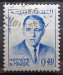 Poštovní známka Maroko 1965 Král Hassan II. Mi# 498