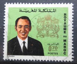 Poštovní známka Maroko 1973 Král Hassan II. Mi# 733