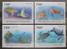 Poštovní známky Togo 2011 Želvy Mi# 3889-92 Kat 12€