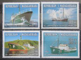Poštovní známky Madagaskar 1996 Lodì Greenpeace Mi# 1794-97 Kat 10€