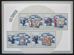 Poštovní známky Niger 2014 Historické šachové figurky Mi# 3085-88 Kat 12€