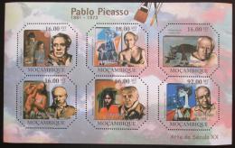 Poštovní známky Mosambik 2011 Umìní, Pablo Picasso Mi# 4756-61 Kat 12€