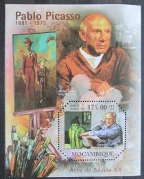 Poštovní známka Mosambik 2011 Umìní, Pablo Picasso Mi# Block 482 Kat 10€