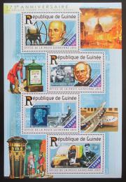 Poštovní známky Guinea 2015 Penny Black, 175. výroèí Mi# 11088-91 Kat 16€
