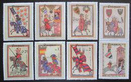 Poštovní známky Paraguay 1984 Minesangøi s kupónem Mi# 3738-44 Kat 8€