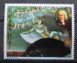 Poštovní známka Paraguay 1980 Baletní scéna, Edgar Degas Mi# 3297 Kat 2.50€