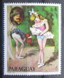 Poštovní známka Paraguay 1980 Baletní scéna, Cydney Mi# 3292