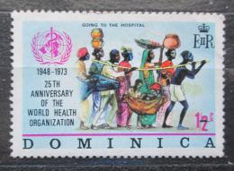 Poštovní známka Dominika 1973 WHO, 25. výroèí Mi# 361