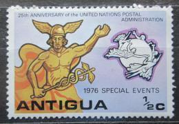 Poštovní známka Antigua 1976 Poštovní služby OSN, 25. výroèí Mi# 447