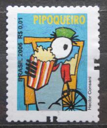 Poštovní známka Brazílie 2011 Prodavaè popcornu Mi# 3462 C