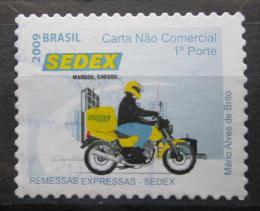 Poštovní známka Brazílie 2009 Poštovní služby Mi# 3711 A