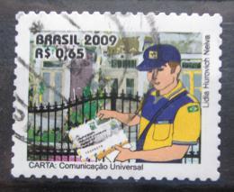 Poštovní známka Brazílie 2009 Poštovní služby Mi# 3582