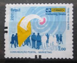 Poštovní známka Brazílie 2011 Poštovní služby Mi# 3944