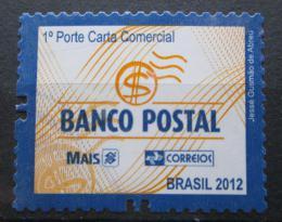 Poštovní známka Brazílie 2012 Poštovní banka Mi# 4044