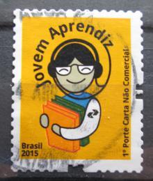Poštovní známka Brazílie 2015 Vzdìlávání mládeže Mi# 4244