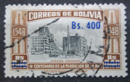 Poštovní známka Bolívie 1957 Avenue Camacho pøetisk Mi# 561