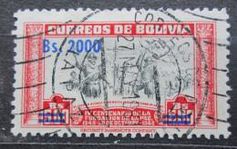 Poštovní známka Bolívie 1957 Alonso de Mendoza pøetisk Mi# 565
