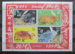 Poštovní známky Somálsko 2011 Èínský nový rok, rok zajíce Mi# N/N