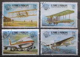 Poštovní známky Svatý Tomáš 1983 Letadla Mi# 830-33 Kat 10€